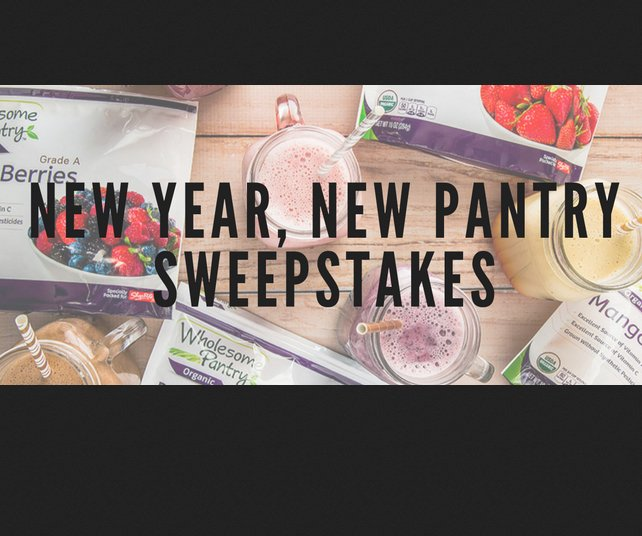 Shoprite shoprite from home new year new pantry sweepstakes for New home giveaway