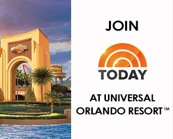 today show universal studios sweepstakes universal orlando resort summer dive sweepstakes 9474