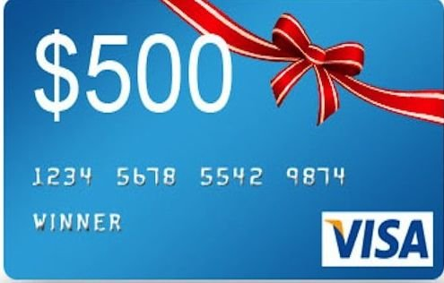 Take a survey win a 500 visa gift card add to favorites 500 visa gift card negle Image collections