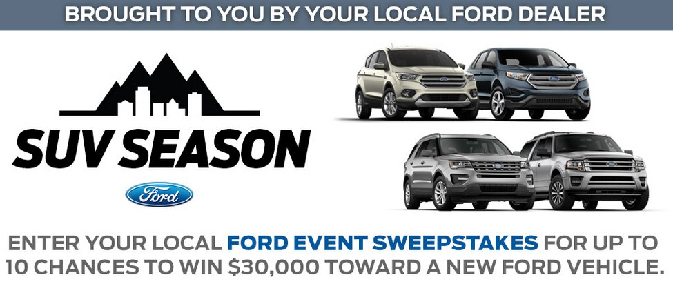 Flash Point Communications - The Ford Event Sweepstakes