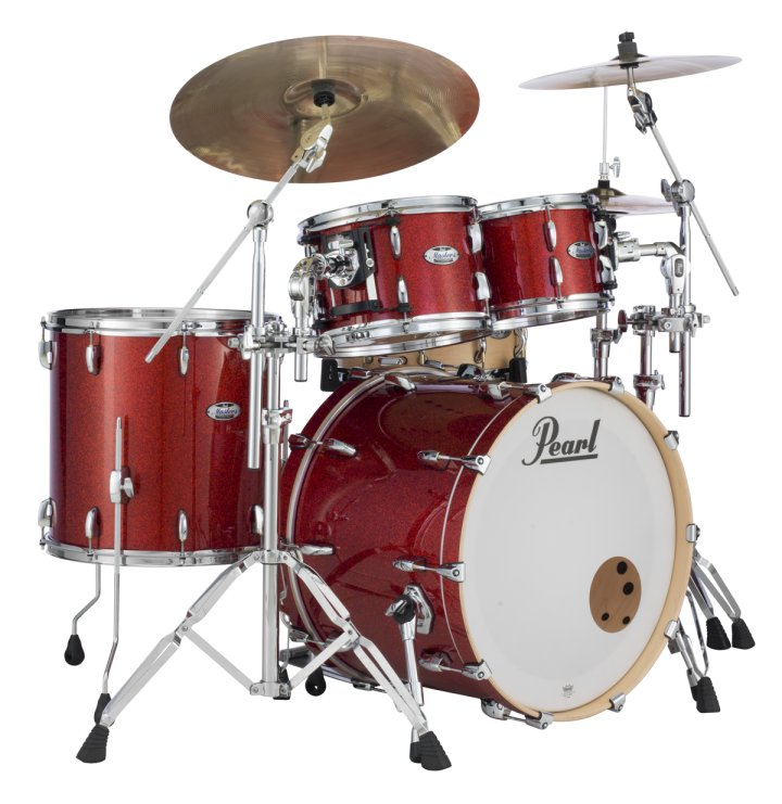 Modern drummer the modern drummer pearl drums and v for Classic house drums