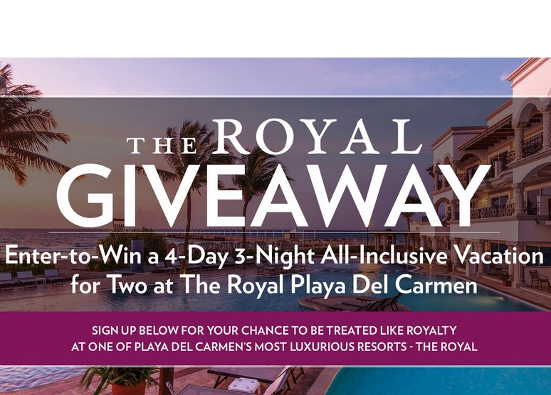 trip to oak island sweepstakes playa hotels resorts the royal giveaway 601