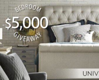The Universal Furniture Bedroom Giveaway