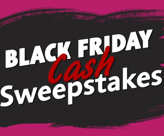 The View $5,000 Black Friday Sweepstakes