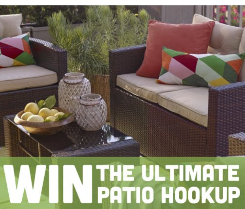 First Prize. Ultimate Patio