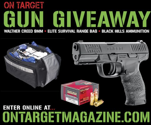 On Target Magazine - Walther Creed 9Mm Pistol Sweepstakes