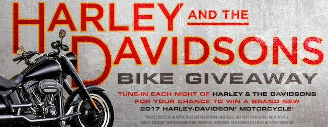 Discovery Channel - Win a 2017 Harley-Davidson Motorcycle!