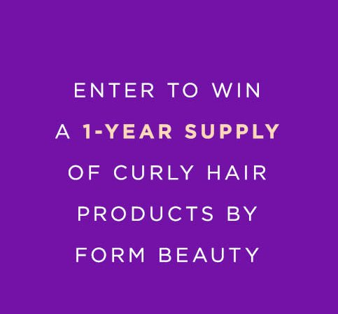 form beauty giveaway naturally curly win a 1 year supply of form beauty 610