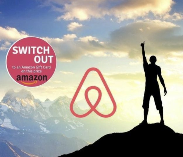 Win A 100 Airbnb Or Amazon Gift Card