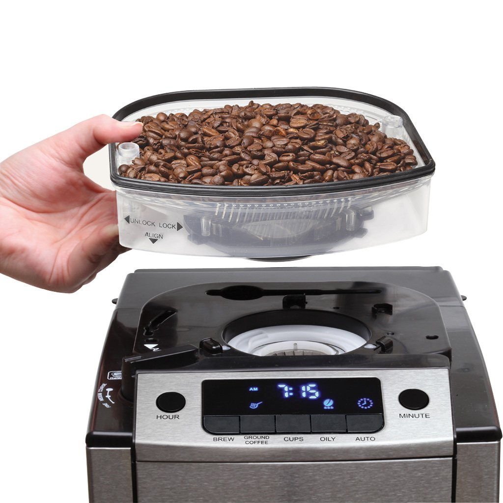 Win a Coffee Maker and Grinder Combination