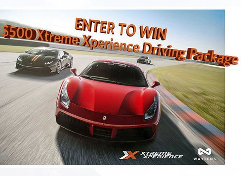 xtreme sweepstakes waylens xtreme xperience driving package sweepstakes 6263